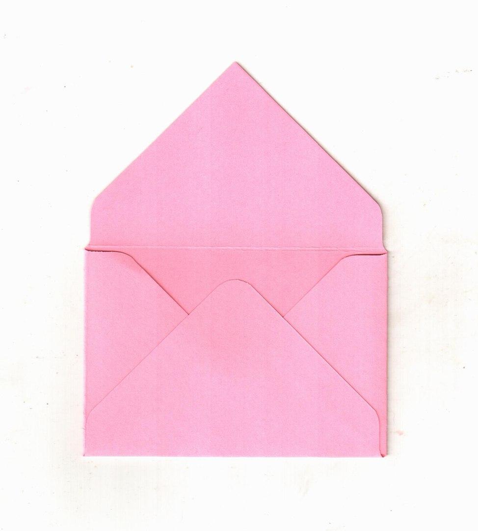 Как сделать конвертики без клея 518